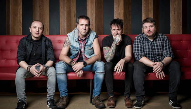 Los cuatro miembros de El Desván.