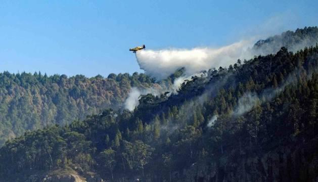 El incendio de Gran Canaria quedará estabilizado en esta jornada.