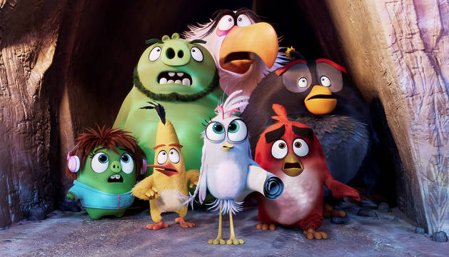 Los pájaros enfadados de 'Angry Birds 2'