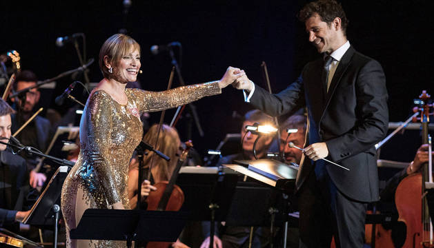 Ainhoa Arteta conquista Cap Roig con temas de bandas sonoras de películas famosas