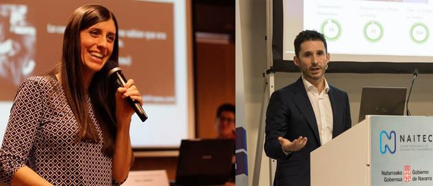 Ana Monreal Vidal y Eduardo Azanza, CEO y cofundador de das-Nano.