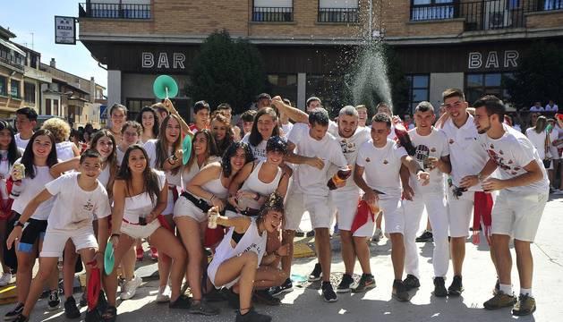 Todas las fotos del cohete de fiestas de Miranda de Arga 2019 en el Diario de Navarra