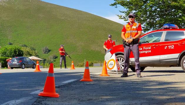 Total normalidad en las carreteras navarras de acceso a la frontera francesa