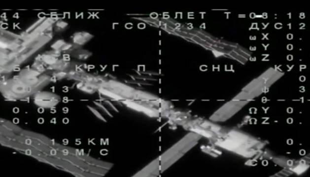 La nave Soyuz rusa, con el androide Fiódor, no logra acoplarse a estación espacial