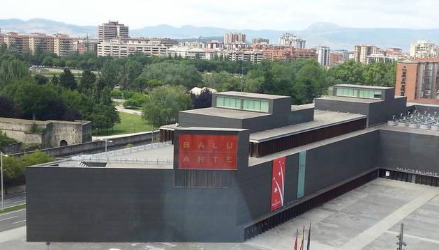 Vista panorámica del Auditorio Baluarte.