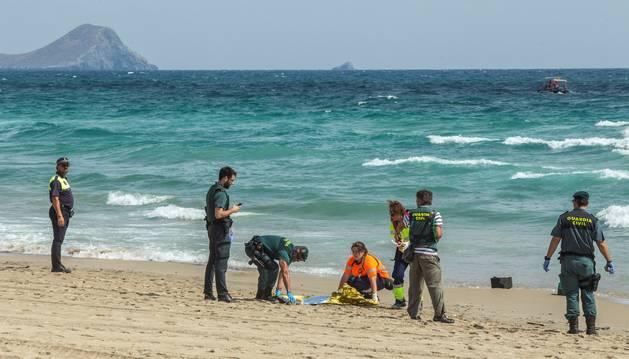 Muere el piloto de un avión del Ejército tras estrellarse contra el mar en La Manga