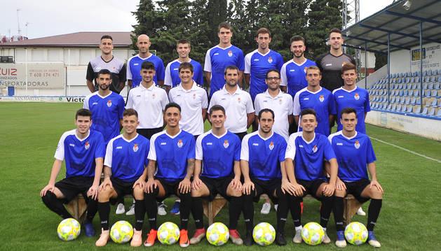 La Peña Sport de Tercera División, dirigida por Igotz Garde, comenzó el curso con victoria.