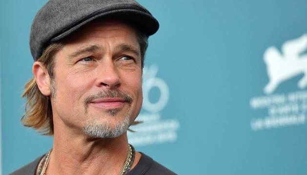 Fotos de Brad Pitt durante su estancia en Italia para acudir a la alfombra roja de la Mostra de Venecia