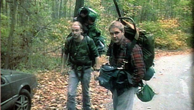 Foto de una escena de 'El proyecto de la Bruja de Blair' (1999).