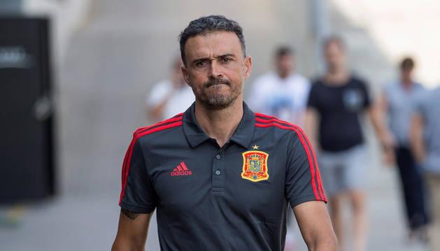 foto de Luis Enrique, exseleccionador nacional de fútbol