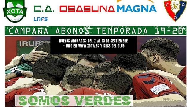 foto de Cartel de la campaña de abonados del Osasuna Magna