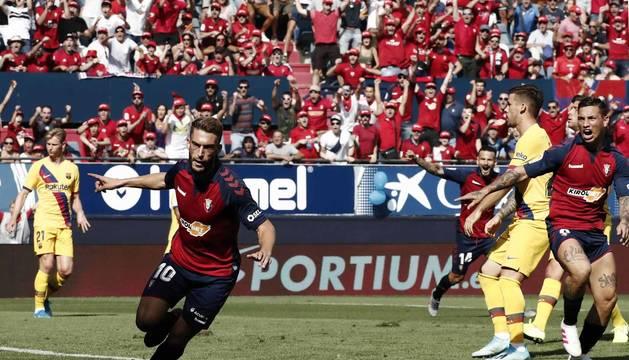 Todas las fotos del partido Osasuna 2-2 Barcelona