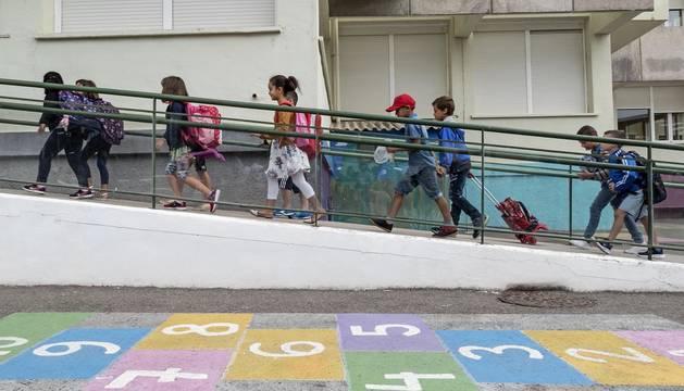 Arranca el curso en Navarra con 103.823 alumnos, el 64,4% en centros públicos