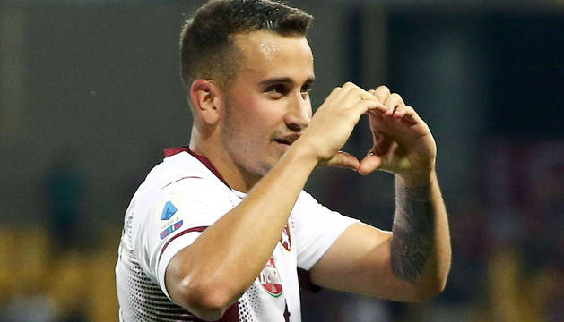Álex Berenguer marcó un gol en la victoria del Torino.