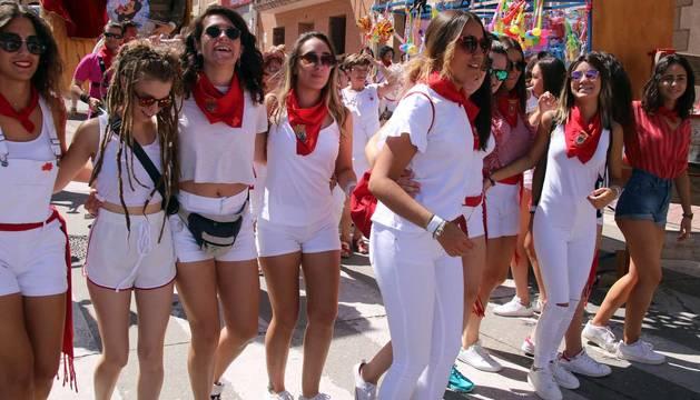 Todas las fotos del Día de la mujer de fiestas de Milagro en Diario de Navarra
