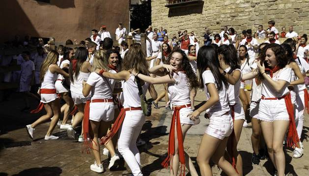 Todas las fotos del cohete de fiestas de Cáseda 2019 en Diario de Navarra