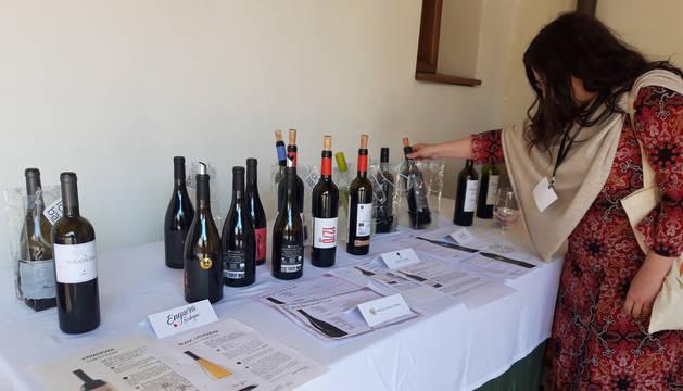 foto de Bodegas participantes en la Feria del Vino Ecológico en Navarra
