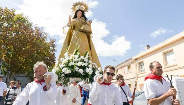 Fotos de la procesión de fiestas de Fontellas 2019