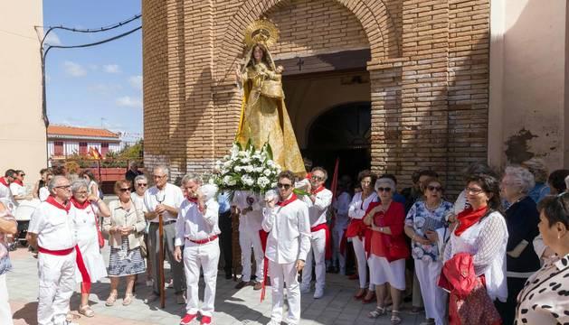 Todas las fotos de la procesión de fiestas de Fontellas 2019