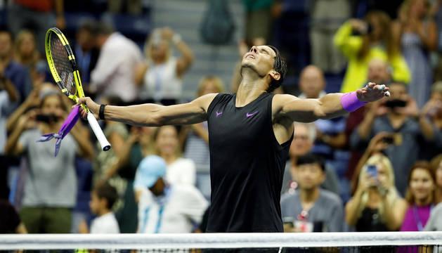 Nadal, a semifinales pese a toparse con la firme oposición de Schwartzman