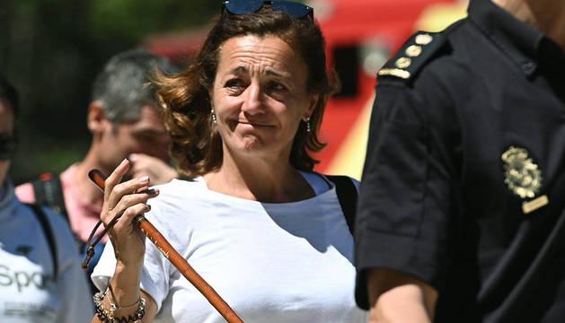 Lola Fernández Ochoa, hermana de Blanca.