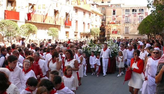 Procesión de la Virgen de la Paz de Cintruénigo