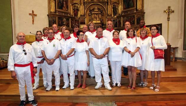 La localidad les dedicó la jornada festiva del lunes y homenajeó a los vecinos que cumplen 65 años y se jubilan
