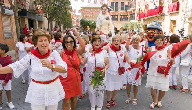 Cintruénigo ha celebrado este lunes, 9 de agosto, el día de Día de la mujer.