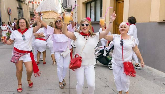 Día de la mujer en fiestas de Cintruénigo