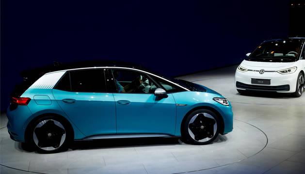 foto de Presentación del ID.3, elnuevo coche eléctrico de Volkswagen y su nuevo logotipo