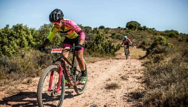 Imágenes de la prueba ciclistas IV Valdizarbe Extreme