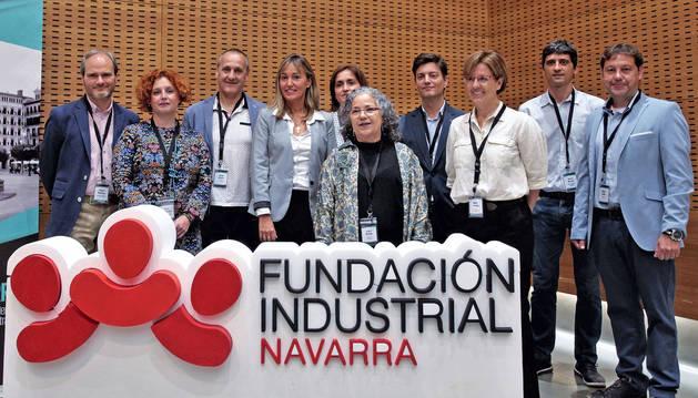 foto de Participantes en el evento Healthy Navarra celebrado en Civican