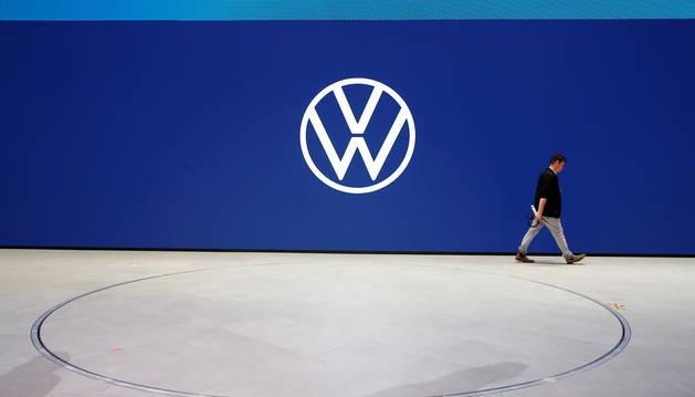 Nuevo logo de Volkswagen.