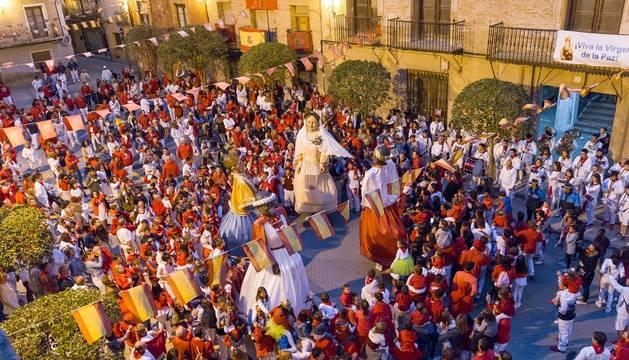 Galería de imágenes del Día de los Mayores en las fiestas de Cintruénigo.