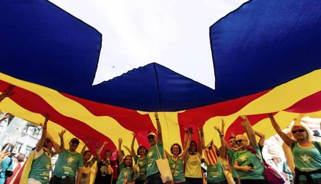 La Diada 2019 de Cataluña, en imágenes