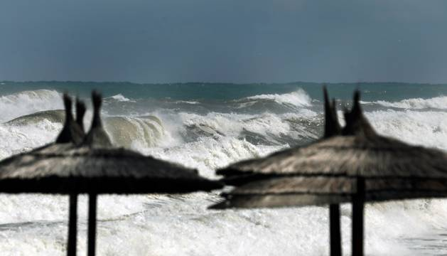 Temporal de lluvia, viento y oleaje en la Comunidad Valenciana