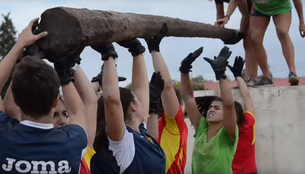 La selección española de rugby femenina, que está preparando la fase de clasificación para la Copa del Mundo, ha realizado un entrenamiento único.