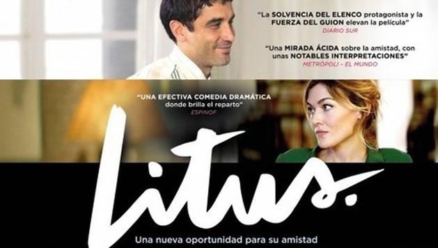Cartel oficial de la película española 'Litus'.