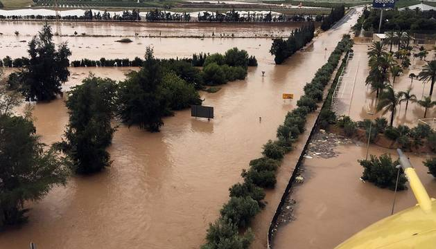 Devastadora gota fría en el sudeste de España