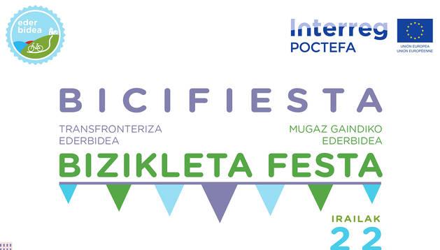 Programa de la Bicifiesta Transfronteriza Ederbidea