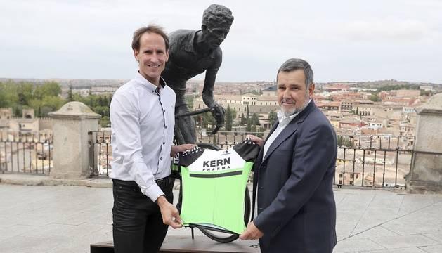 Kern Pharma patrocina el nuevo equipo ciclista profesional navarro