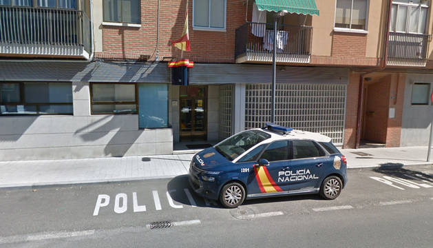 Comisaría de la Policía Nacional en Medina del Campo (Valladolid).