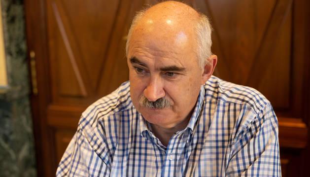 José María Aierdi asegura que trabajará para extender el modelo de regeneración urbana aplicado en Tudela y, después, en Txantrea a toda Navarra.