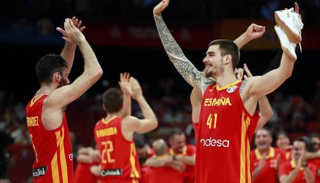La selección española ganó a Argentina por 75-95 y se proclama, por segunda vez, campeona del mundo.