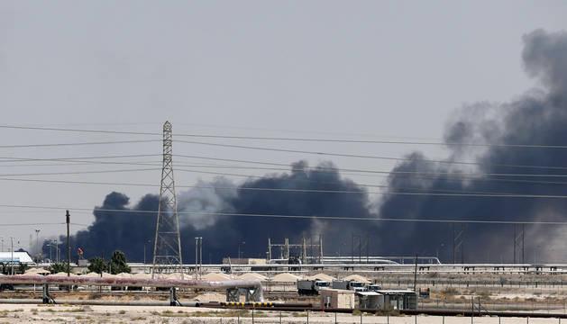 El crudo Brent sube un 10,5 % tras los ataques en Arabia Saudí