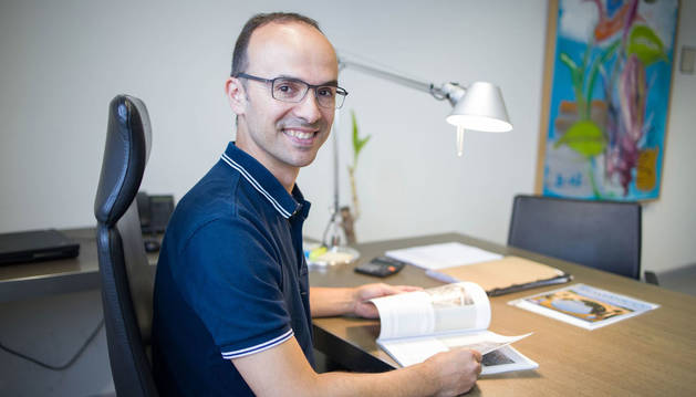 foto de Juan Ignacio Latorre Biel, director del Área del Campus de la UPNA en Tudela