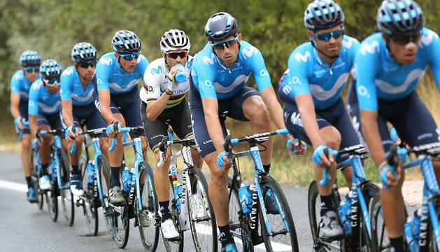 La próxima temporada, Navarra contará con cuatro equipos profesionales: Movistar masculino, Movistar femenino, Caja Rural y el Kern Pharma, de nueva creación de Manolo Azcona y Juanjo Oroz. Un caso inaudito en el ciclismo europeo.