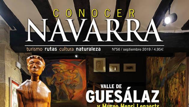 Portada del 'Conocer Navarra' de septiembre de 2019.