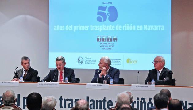 foto de Acto conmemorativo de los 50 años del primer trasplante renal en Navarra