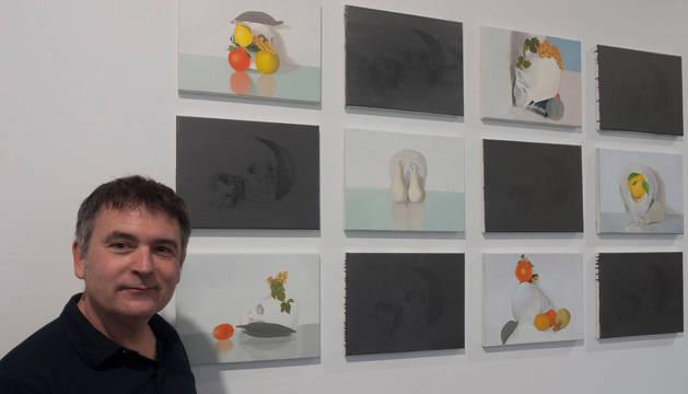 José Miguel Corral inaugura este viernes en Pamplona su exposición 'Presente continuo'